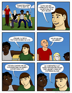 Casual supervillain picnic